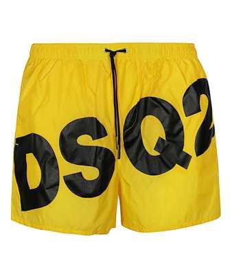 logo-print swim shorts