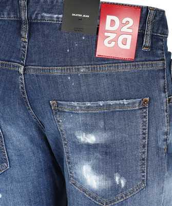 dsquared2 wash skater jeans
