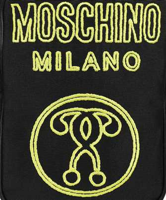 moschino double question mark bag
