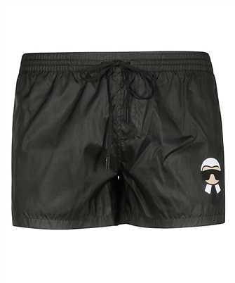 fendi karlito swim shorts
