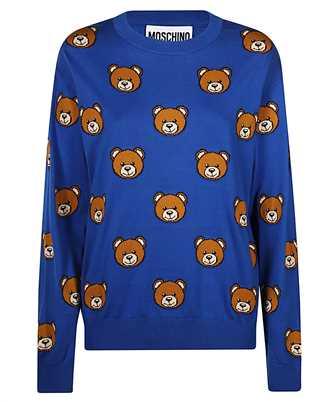teddy bear knitted jumper
