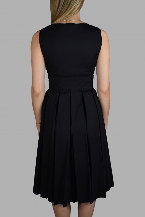 Luxury dress for women - Prada black pleated dress