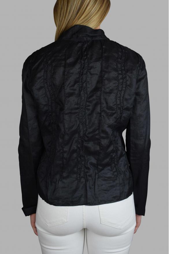 Women's luxury top - Jil Sander black blouse