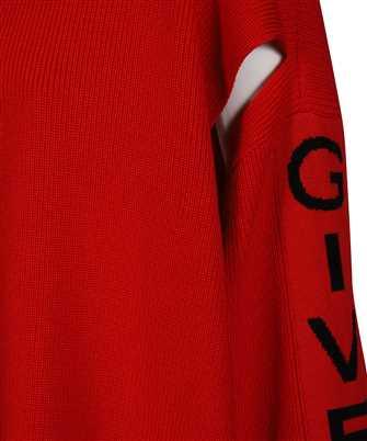 Givenchy LOGO-BAND CUT-OUT Knit