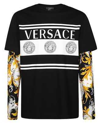 versace barocco print t-shirt