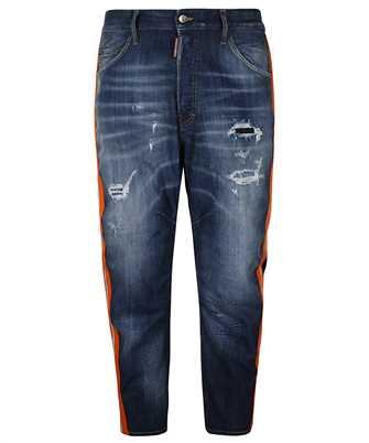 light 2 wash combat jeans