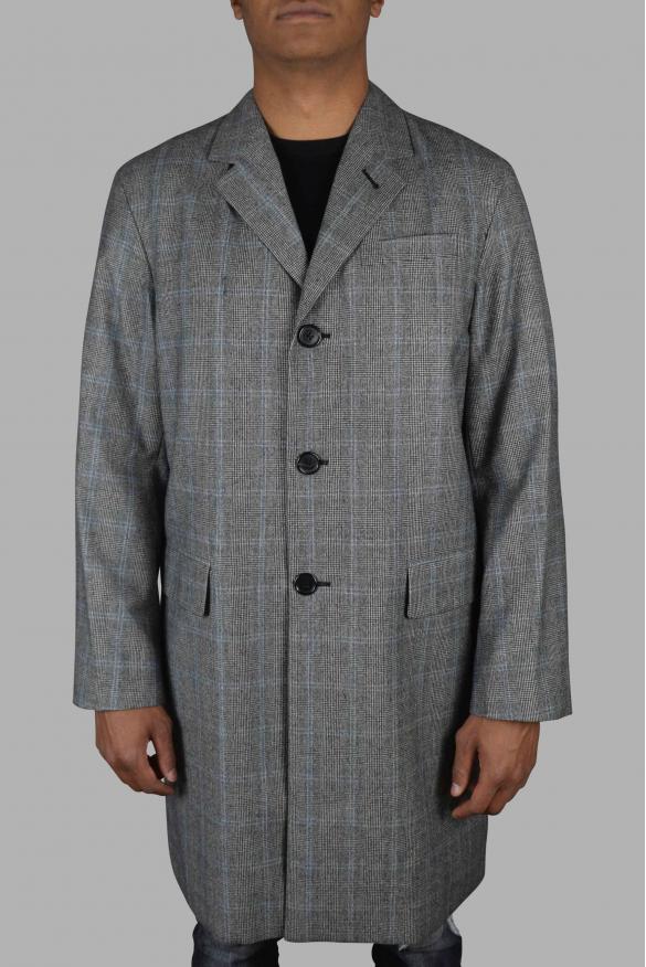 Men's luxury coat - Prada gray coat in wool and cashmere