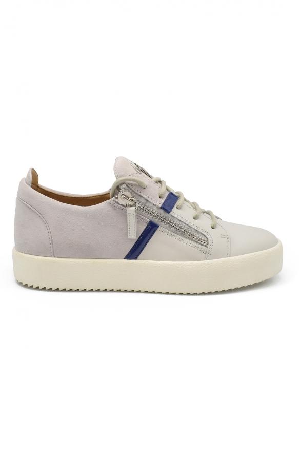 Men luxury sneakers - Giuseppe Zanotti Frankie sneakers in grey suede