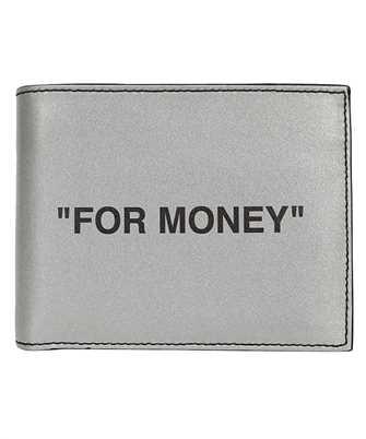 quote print bi-fold wallet