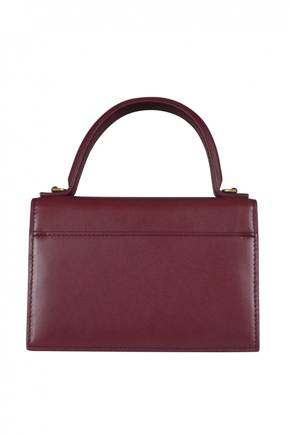 Luxury handbag - Sharp XS Balenciaga handbag in bordeaux leather