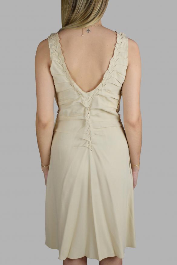 Luxury dress for women - Prada off-white fluid dress