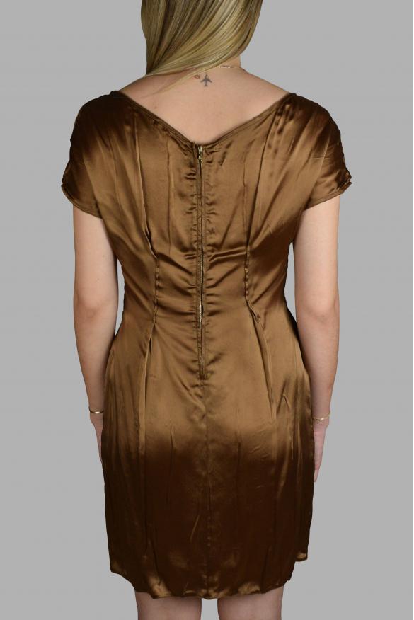 Luxury dress for women - Prada brown fluid dress