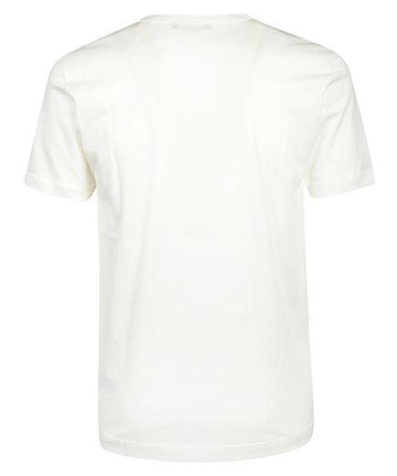 crown print cotton t-shirt