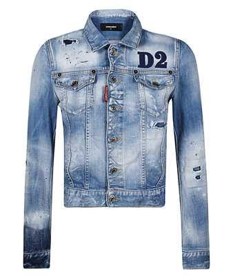 logo-patch denim jacket