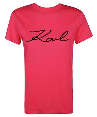 Karl Lagerfeld LOGO RHINESTONE T-shirt