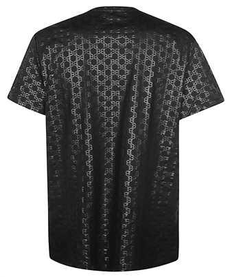 balmain all over monogram t-shirt