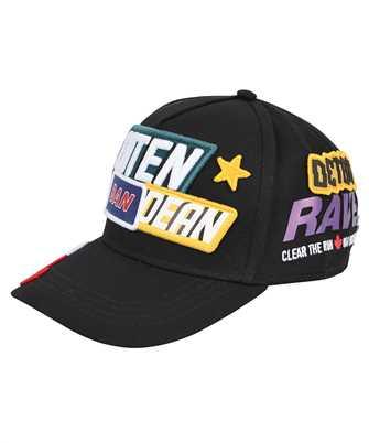 patchwork baseball cap
