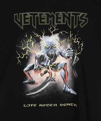 Vetements ELECTRIC LOGO HEAVY METAL T-shirt