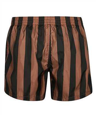 fendi pequin swim shorts