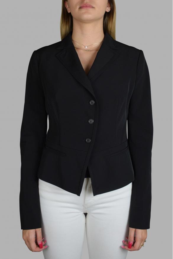 Women's luxury jacket - Prada black jacket with buttons