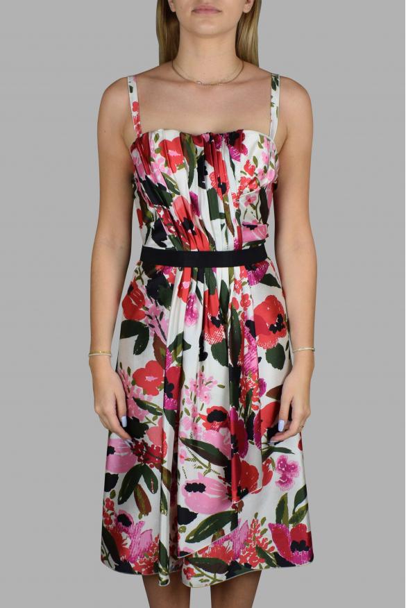 Luxury dress for women - Dolce & Gabbana floral print strappy dress