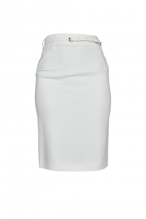 Luxury skirt for women - Gucci white skirt with belt