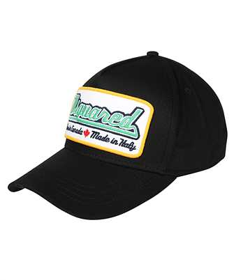 logo-patch baseball cap