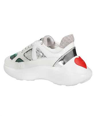 fluorescent details sneakers