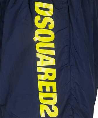 logo-print drawstring swimshorts