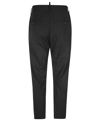 side logo tapered trousers
