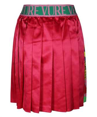 paisley Fantasy Print pleated mini skirt