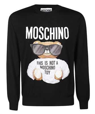 moschino micro teddy bear knit