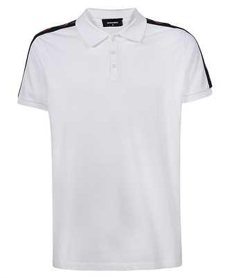 leaf-tape polo shirt