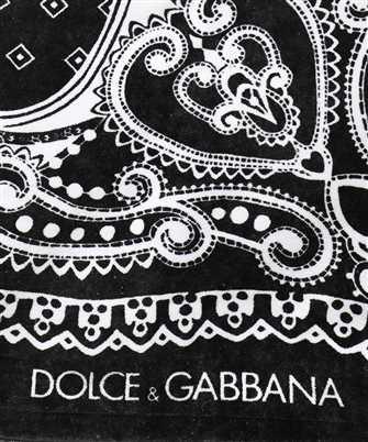 dolce & gabbana bandana beach towel