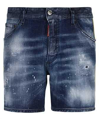 wash dan commando denim shorts