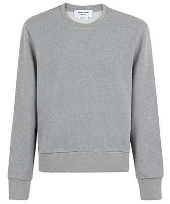 Thom Browne TIPPING STRIPE IN LOOPBACK Sweatshirt
