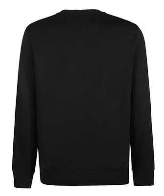 neil barrett gold bolt lightweight sweatshirt