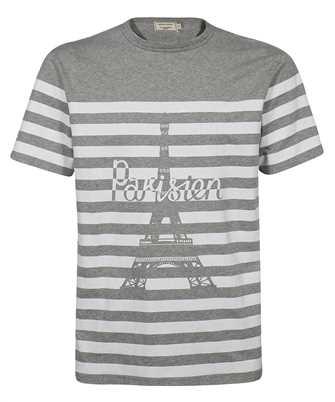 Maison Kitsune PARISIEN TOWER STRIPED CLASSIC T-shirt