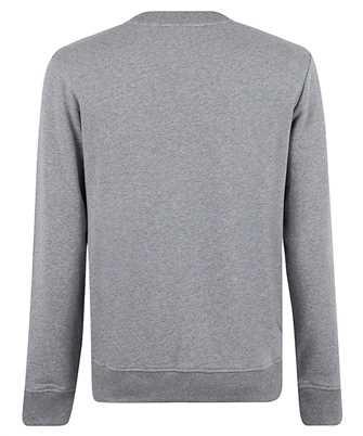 balmain grey logos sweatshirt