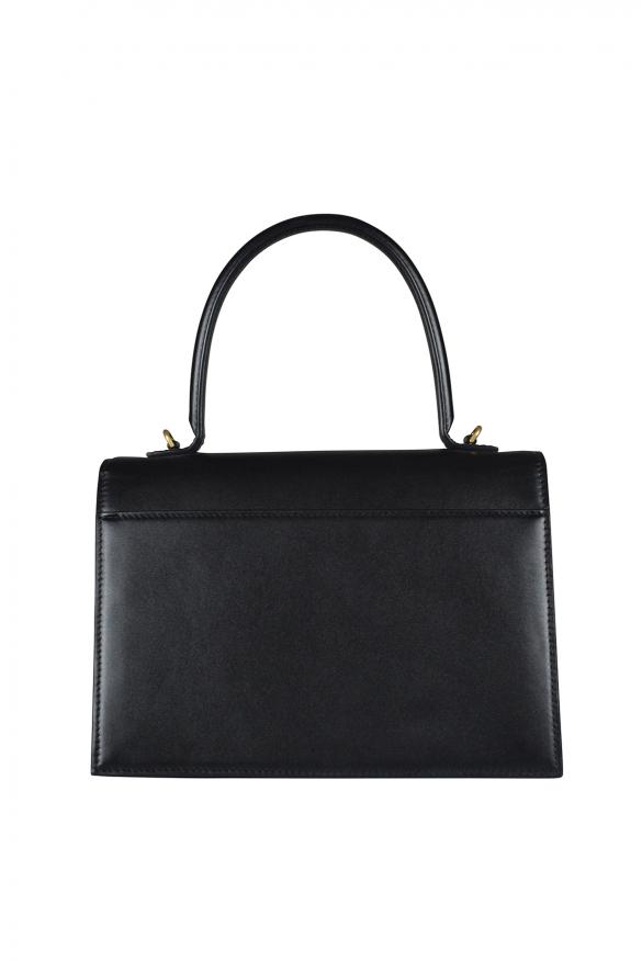 Luxury handbag - Sharp M Balenciaga handbag in black leather