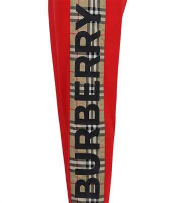 Burberry VINTAGE CHECK PANEL COTTON JOGGING Trousers