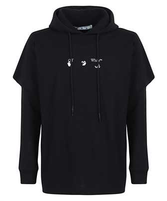 Off-White BLUE MARKER DOUBLE SLEEVE Hoodie