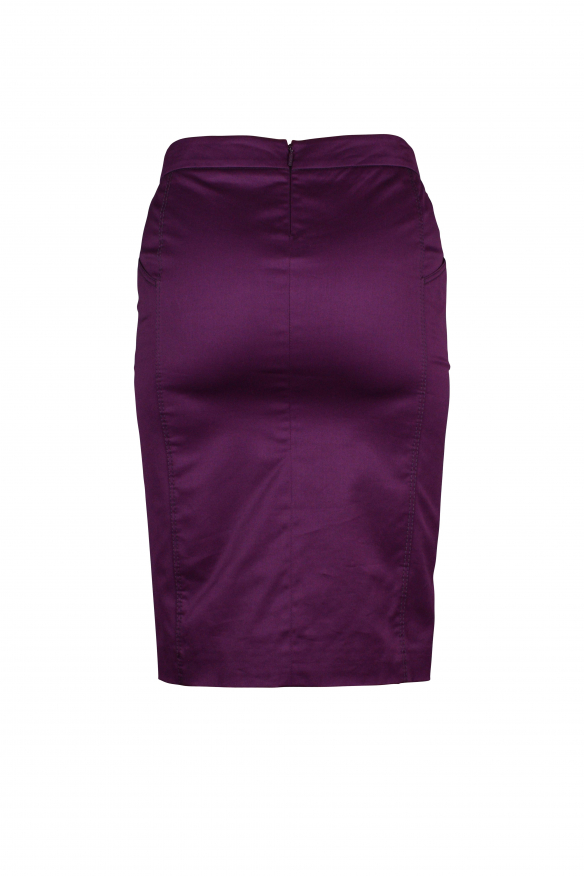 Luxury skirt for women - Gucci purple skirt with the iconic Gucci horsebit