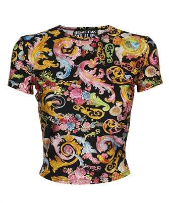 lycra print versailles T-shirt