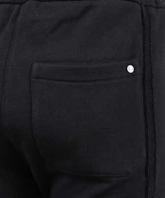 balmain raw edge trousers
