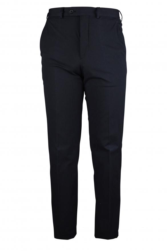 Luxury trousers for men - Prada black trousers classic model