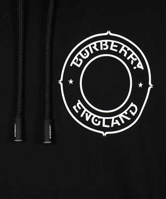 burberry logo graphic oversized hoodie