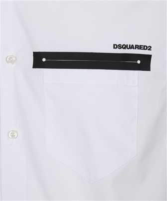 logo-print shirt