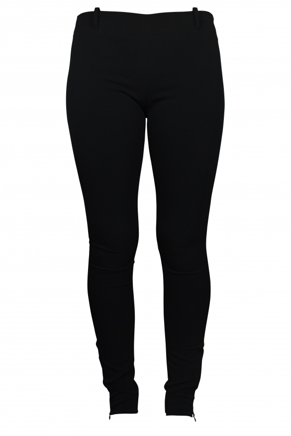 Luxury trousers for women - Balenciaga light black trousers