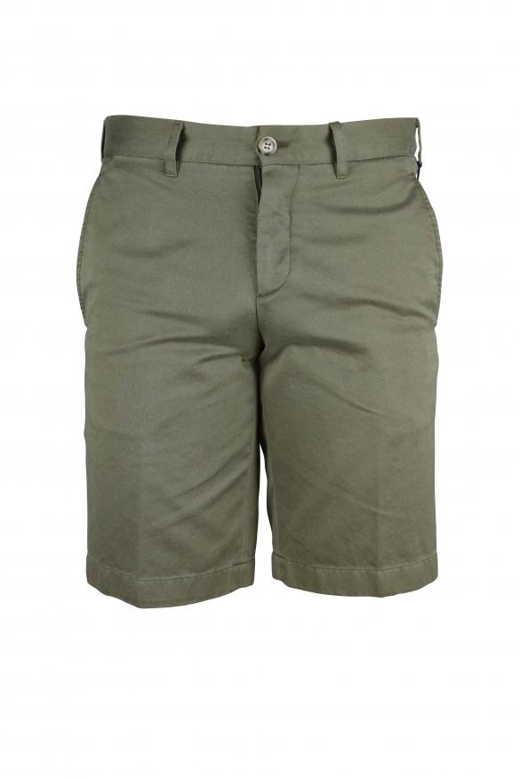 Luxury shorts for men - Prada green shorts